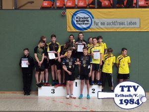 2017 Schüler Meisterschaft Finale Siegerehrung